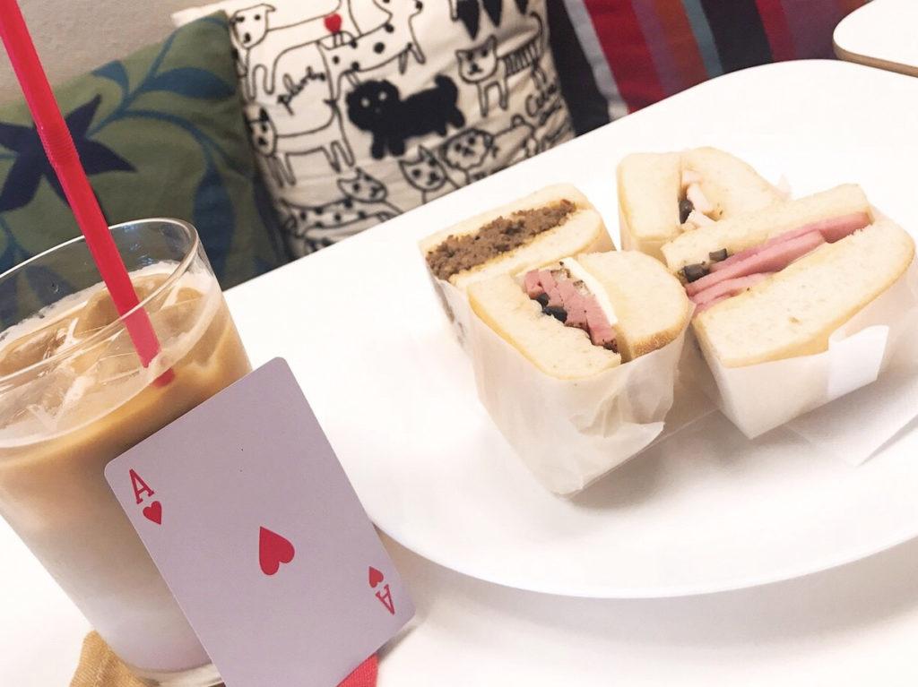 サンドイッチ4種盛り&ドリンク